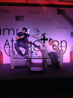 Paul and Ian at The Vampire Attraction in Brazil!