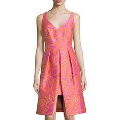 Resultado de imagen para antonio berardi paneled jacquard dress, women's
