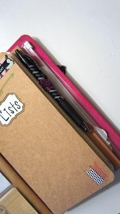 Top DIY Midori Travelers Notebook Inserts and Hacks!
