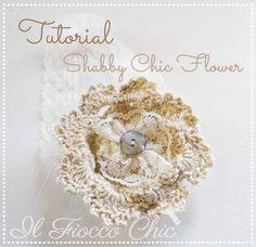 Tutorial crochet #ilfioccochic, #tutorialuncinetto, #fioreuncinetto, #crochetflower