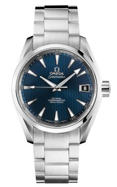 James Bond Aqua Terra Automatic Blue Dial Stainless Steel 231.10.39.21.03.001 38.5mm