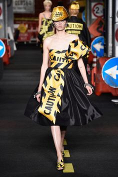 Moschino Spring 2016. See all the best runway looks from Milan Fashion Week here: