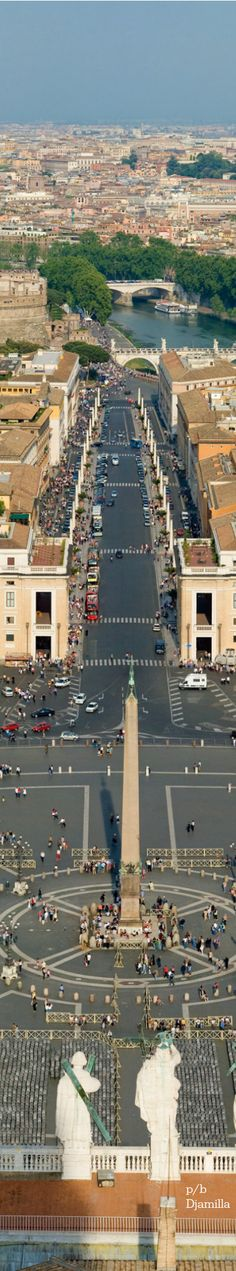 St. Peter's Square ~ Vatican City, Rome, Italy