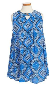Mia Chica Floral Print Sundress (Big Girls) available at #Nordstrom