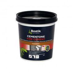 Bostik Cementone Fire Cement 2Kg Extreme Heat, Brickwork, Boiler, Cement, Fire, Concrete