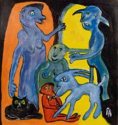 Art Brut, Outsider Art, The Outsiders, World, Painting, Artists, Random Stuff, Painting Art, Paintings
