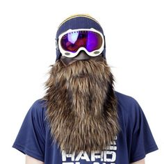 Beardski Ski Mask Brown, £20.90, now featured on Fab.