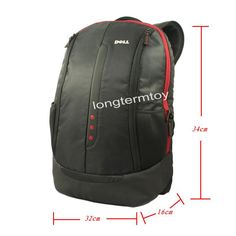 "Free shipping Black case for Dell Synergy Backpack* Laptop Notebook Backpack Bag up to 15.6"" RED 3 DOTS-in Digital Gear Bags from Consumer Electronics on Aliexpress.com $26.99"