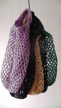 Crochet bags by 4erkio via DaWanda