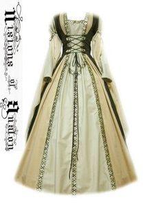 Medieval Dress Costume Medievaldress Garb Renaissance LARP Celtic Tudor Fantasy | eBay