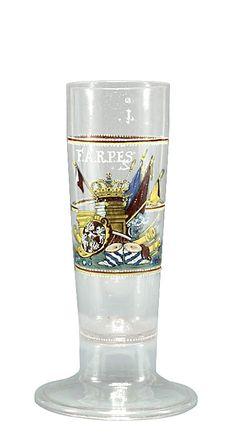Höfisches Glas - Augustus Rex Dresden 1700
