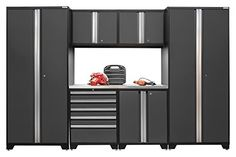 NewAge Products 52053 Pro 30 Series Stainless Steel Storage Set 7 Piece Gray *** For more information, visit image link.