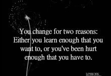 Lessons Learned in Life | Things we eventually learn.