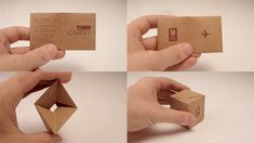 30 Highly Creative Business Cards For Inspiration | Top Design Magazine - Web Design and Digital Content