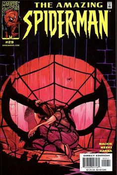 Cover for The Amazing Spider-Man (Marvel, 1999 series) #29 [Direct Edition]