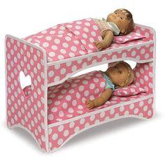 Badger Basket Doll Bunk Beds With Ladder Overstock Com Shopping