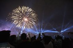 Fireworks, Lasers, real Fires, Lights, exciting soundtrack for the entire event