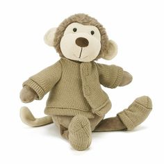 Jellycat -Knitnat Monkey