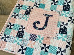 Riley Blake Flannel Baby Quilt and Burpers Tutorial