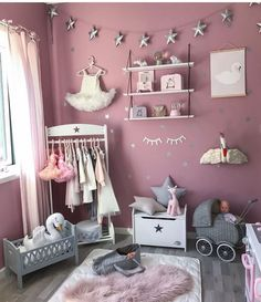 Teen Girl Bedrooms Amazing teen girl room examples to produce that satisfying room ideas for teen girls hipster Room Decor idea number 9044429376 shared on 20190102 Teen Girl Bedrooms, Little Girl Rooms, Baby Bedroom, Room Decor Bedroom, Bedroom Ideas, Ideas De Closets, Deco Kids, Baby Room Colors, Home Decor