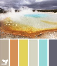 going for cheery colors in the next apartment. awesome color palette website.