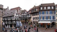 Colmar, France. Pretty town in the beautiful region of Alsace. I loved the Cremant d'Alsace wine!