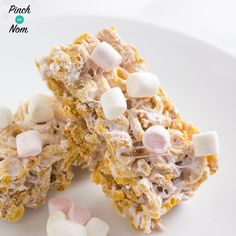 Low Syn Marshmallow Bars Slimming World Slimming World Flapjack, Slimming World Deserts, Slimming World Puddings, Slimming World Recipes Syn Free, Slimming World Breakfast, Slimming World Cookies, Slimming World Hifi Bars, Slimming World Syns, Slimming Eats