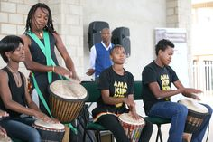 Drumming is a very popular activity for young adults and children alike and is a channel to vent the emotions felt by difficult challenges that they are faced with daily. To Vent, Captain Hat, Channel, Youth, Challenges, Young Adults, Activities, Children, Face
