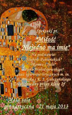 W gimnazjum w Jaworznie powstał projekt o miłości.  Było i badawczo - symbole miłości, najsłynniejsze dzieła, i twórczo - gimnazjaliści pisali wiersze i przygotowali scenariusz spektaklu. Przeczytajcie opis zadania Renaty Radko: http://szkolazklasa2012.ceo.nq.pl/dokument_widok?id=6277