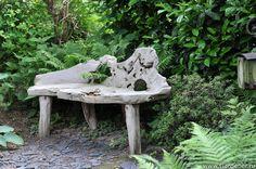 Садовая скамейка. Сад семьи Ульбрих (Garten Ulbruch)