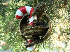 Dragon Christmas Tree Ornaments  http://www.squidoo.com/dragon-christmas-tree-ornaments
