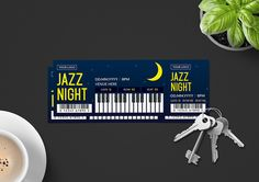 Ticket Template Ticket Template, Photo Backgrounds, Create Yourself, Jazz, Banner, Clip Art, How To Get, Templates, Check