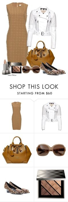 """""""Burberry"""" by nuria-pellisa-salvado ❤ liked on Polyvore featuring Burberry, dresses and fashionset"""