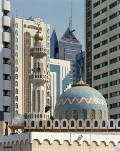 One of the four mosques below my apartment building. Andrew Moore, Al Markaziyah, Abu Dhabi (2009)
