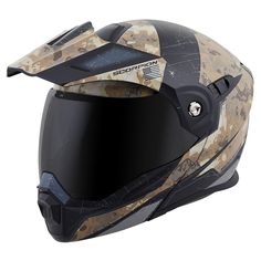 Scorpion Peak Visor Exo-AT950 Motorcycle Helmet Accessories Hi Viz//One Size