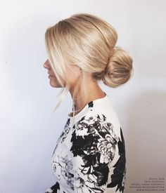 KASSINKA - Messy Bun Hair Tutorial // Model > @jannaYaromich
