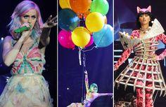 O que rolou na estreia da nova turnê da Katy Perry em fotos, vídeos e GIFs