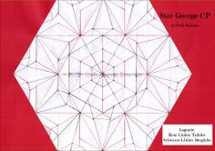 """Star """"George"""" Creased Pattern by CBC - Chris Barharn Creations"""