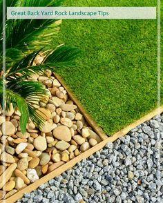Great Rock Landscape Ideas   Backyard Landscaping With Rocks