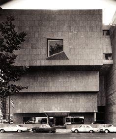 Whitney Museum of American Art | 1966 | New York, New York | Marcel Breuer | photo by Ezra Stoller