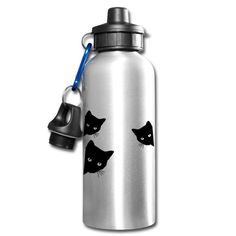 Aluminium, Water Bottle, Cat T Shirt, Ideas For Christmas, Drinking Water Bottle, Flasks, Drinking, Products, Water Bottles
