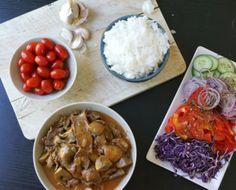 Har du fått en Crock-Pot i julklapp? Chana Masala, Paella, Slow Cooker Recipes, Chicken, Meat, Crock Pot, Ethnic Recipes, Food, Chili Con Carne