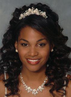 Stupendous Black Women Wedding Hairstyles And Hairstyles On Pinterest Short Hairstyles For Black Women Fulllsitofus