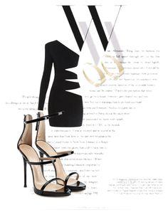 """""""Feeling sexy"""" by rossanaa ❤ liked on Polyvore featuring Balenciaga, Balmain, Giuseppe Zanotti and Lana"""