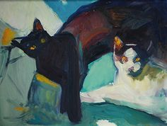 Two Cat Composition
