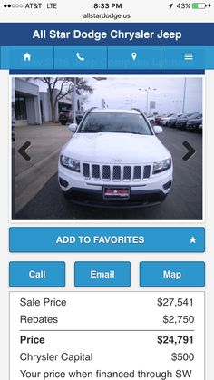 Brand new Jeep Compass only 24,000  2016!