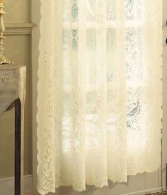 Lovely Cheap White Lace Curtains