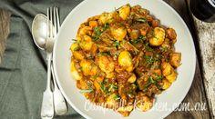 Beef ragù with gnocchi