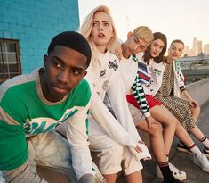 Tommy Jeans taps a diverse group for the launch of its spring-summer 2018 campaign.