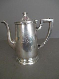 vintage plaza hotel new york gorham silver 18oz teapot or